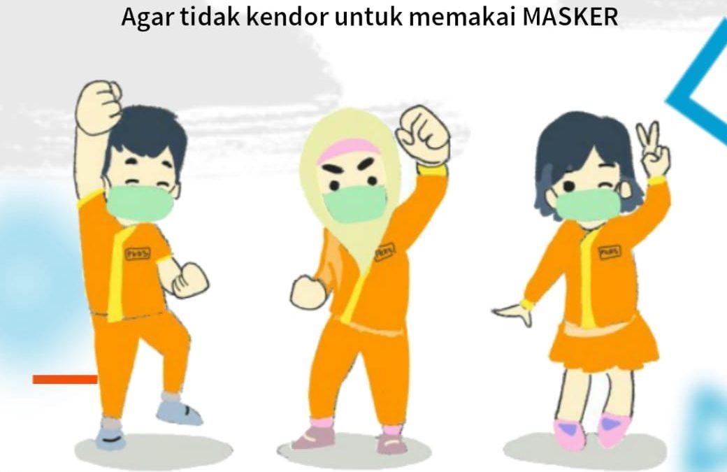 Jangan Kendor Pakai Masker